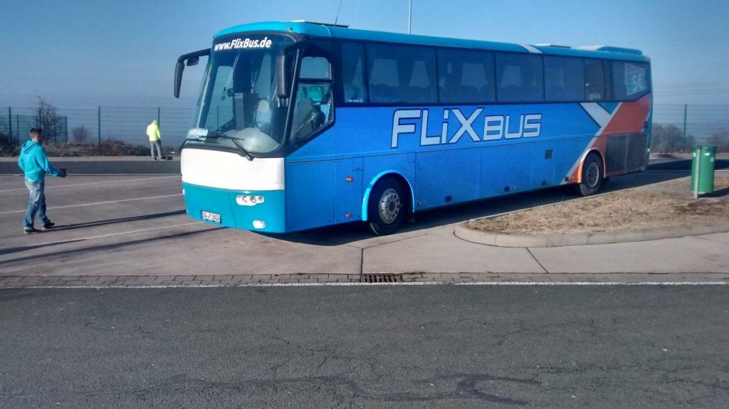 Ein Bus von FlixBus
