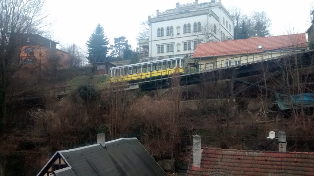Die Standseilbahn von Dresden