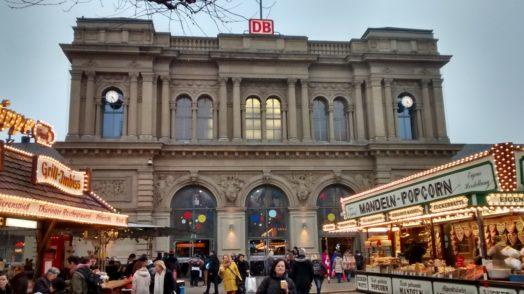 Mainzer Hauptbahn Haupteingang