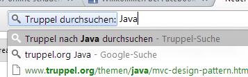 OpenSearch in Joomla
