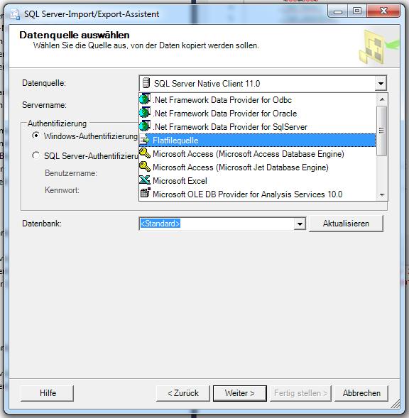 CVS Dateien sind Flatfiles