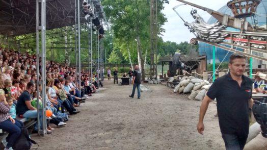 Musketiershow des Filmpark Babelsberg
